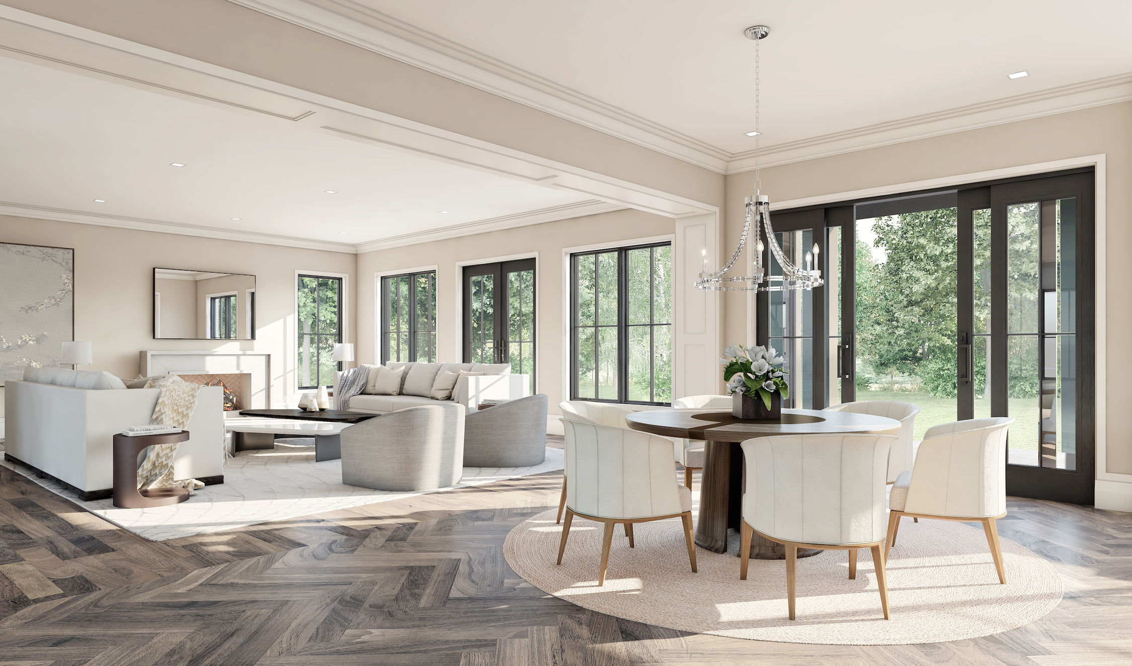 Family Room and Breakfast Nook