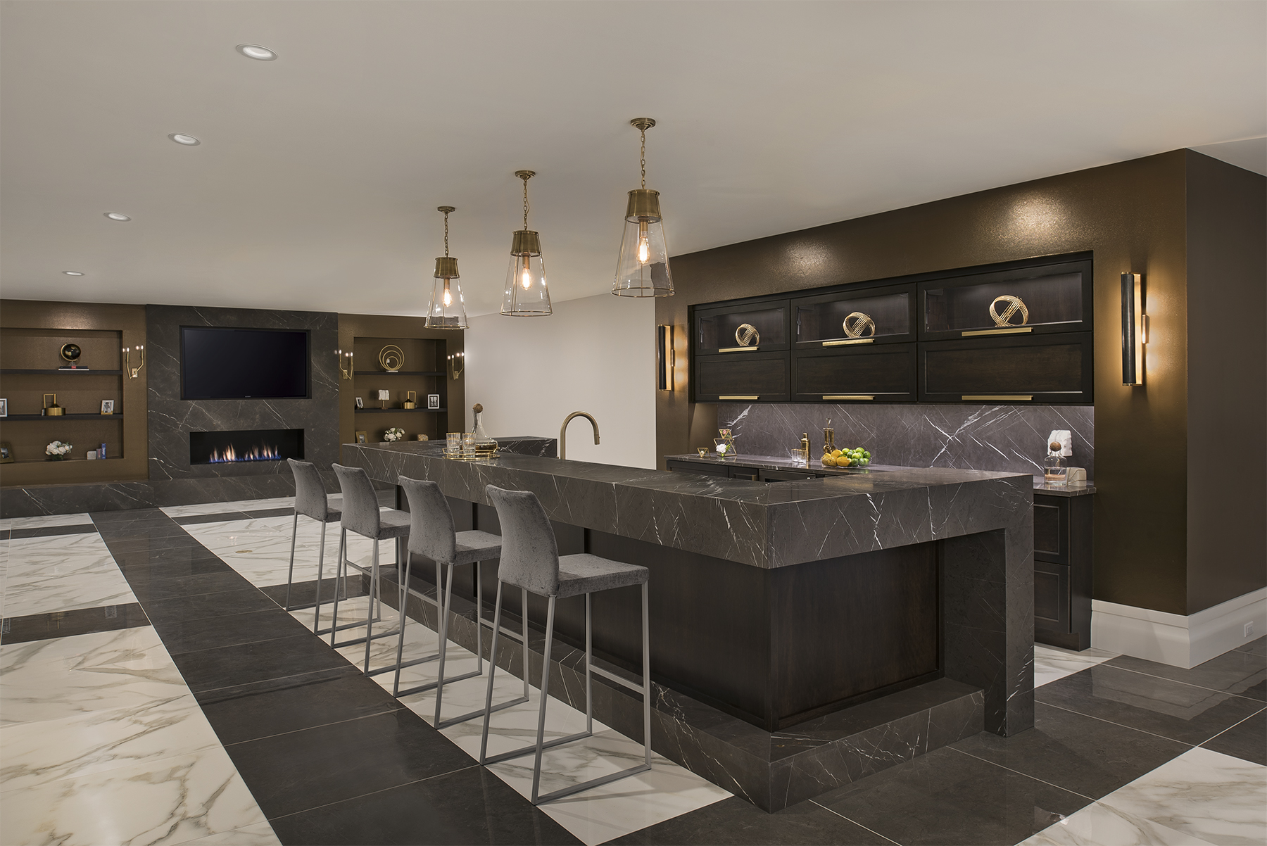 Lower Level Bar and Lounge