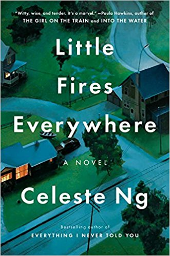 little fires everywhere hardcover book