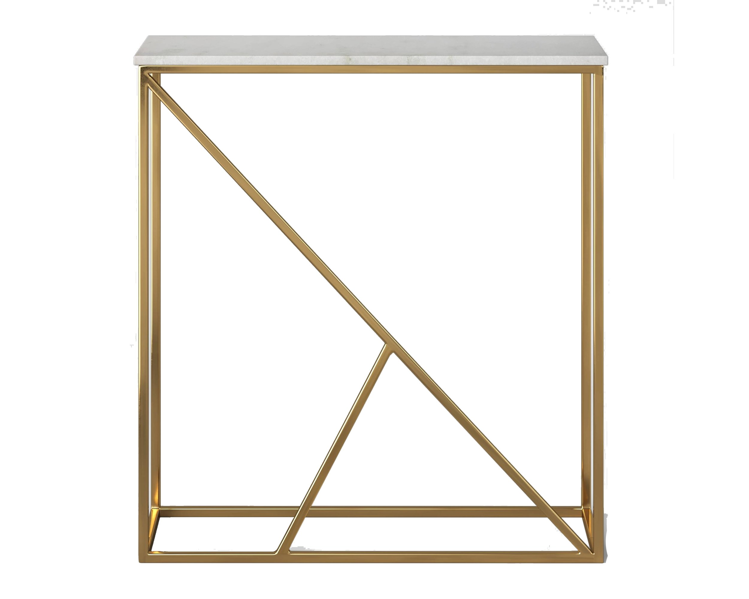 target marble + brass table