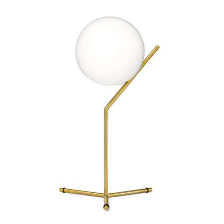 FLOS brass table lamp