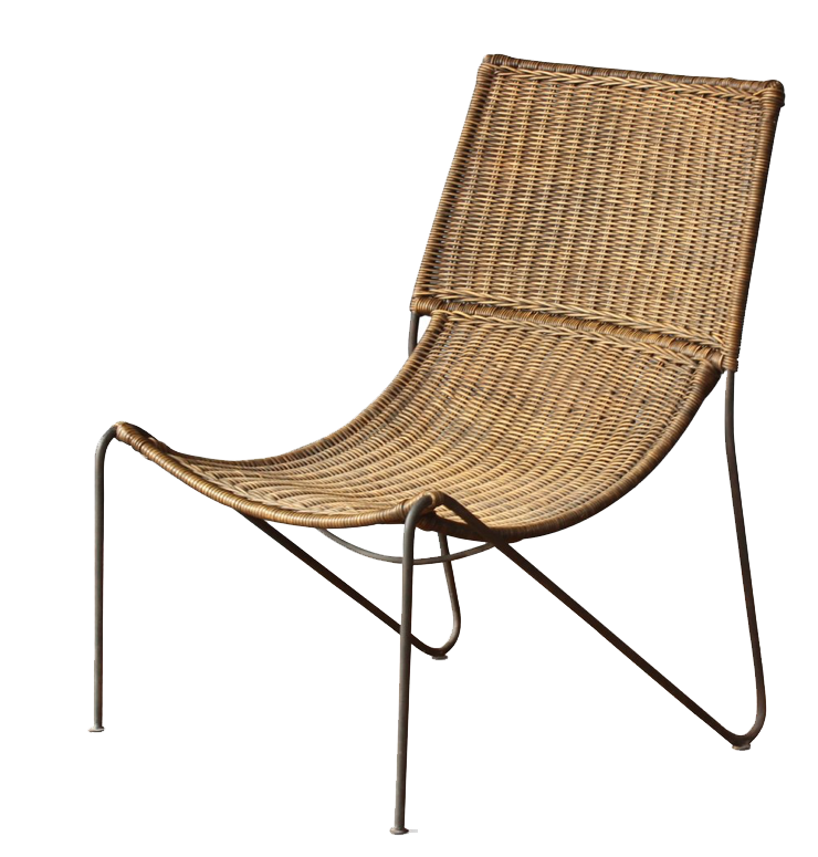 hollywood at home wicker chair