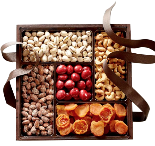 dried fruit + nut gift box