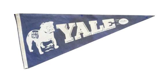 1930s yale pennant