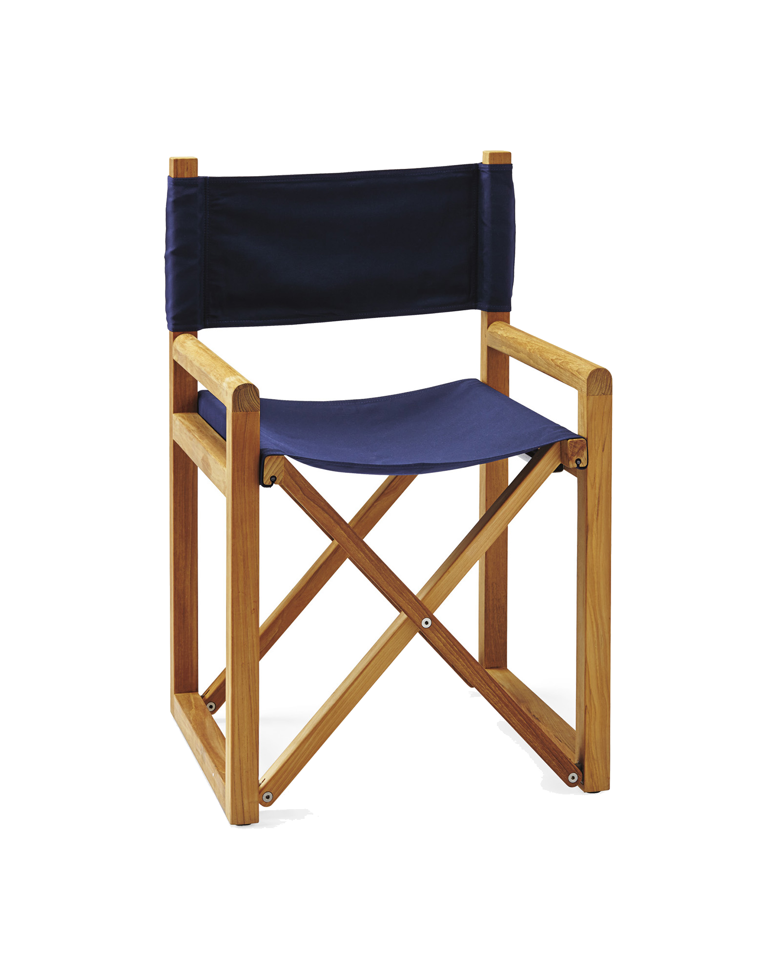 navy director's chair