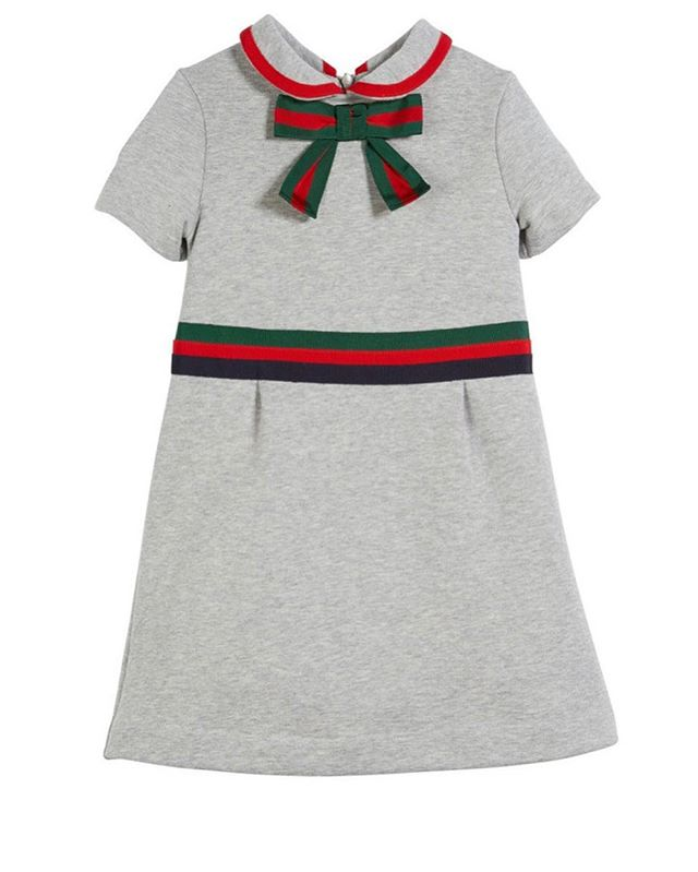 Gucci for girls? 💯 The sweetest special occasion dress off our 'For the Kids' styleboard #allshopnotalk #forthekids #holidaydressiny #kidgifts #gucci #preciousdresses #specialoccasion