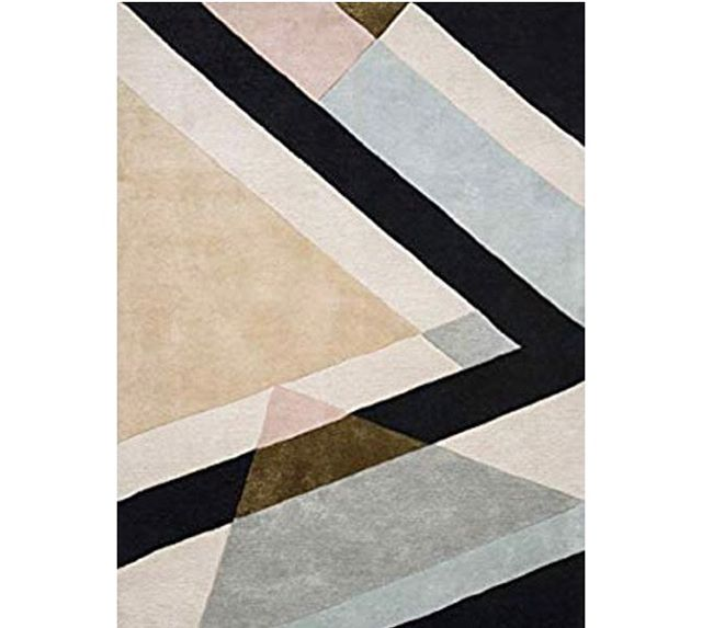 Freaking over everything from Jonathan Adler's exclusive collection for Amazon. This rug though! 🥂 Shop it off our latest #ChampagneDreams styleboard  #wornanddomestic #allshopnotalk #rug #jonathanadler #geometric #retrovibe #the80sareback #linkinbio