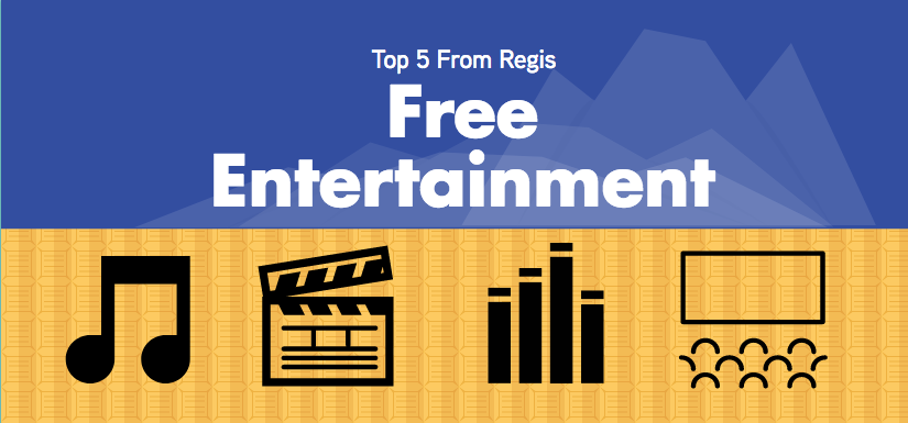 Free entertainment graphic //Created by Allison Upchurch