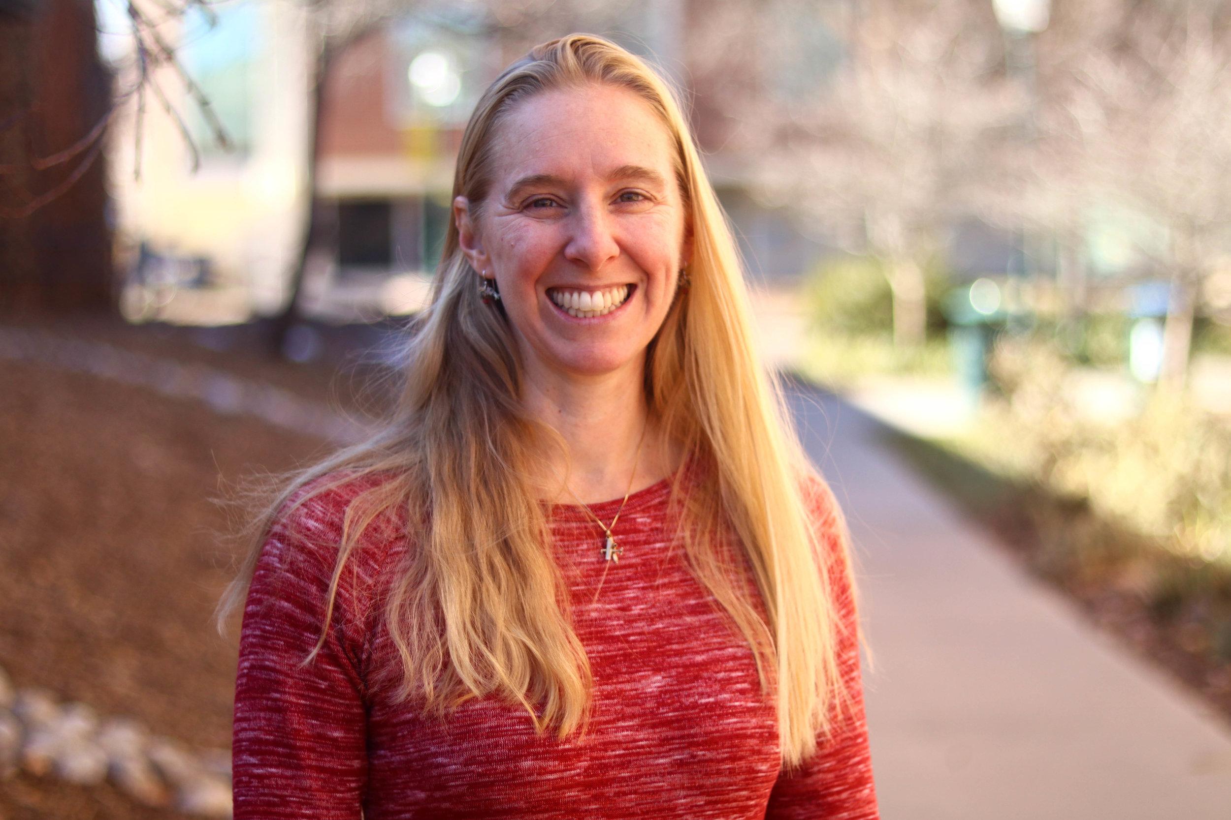 Dr. Lea Stenerson of Regis University //Frances Meng-Frecker