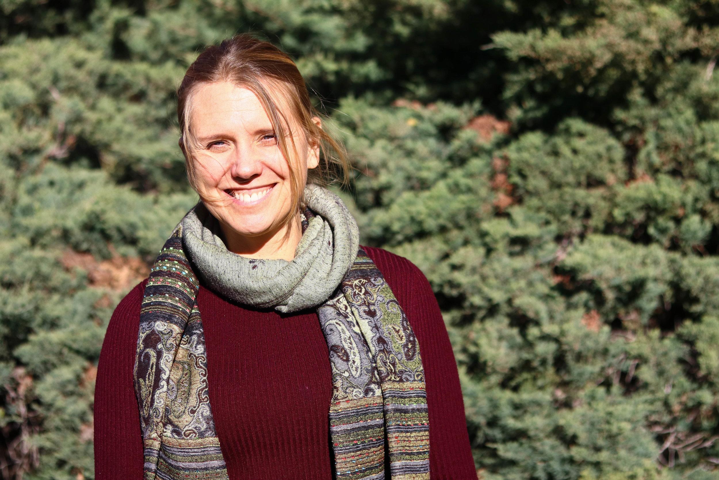 Botany professor Dr. Catherine Kleier //Frances Meng-Frecker
