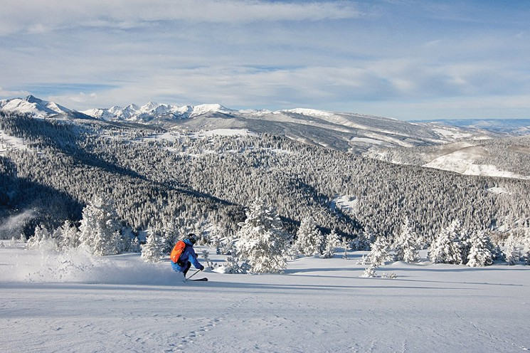 Blue Sky Basin at Vail. Photo source: westword.com