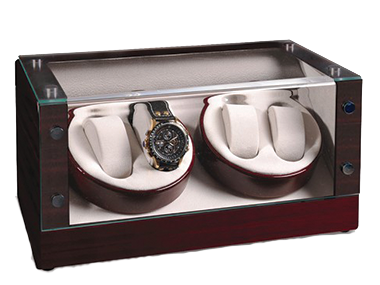 Watch winders for one, two four or more watches. Varied colors and styles go clockwise or counter-clockwise.