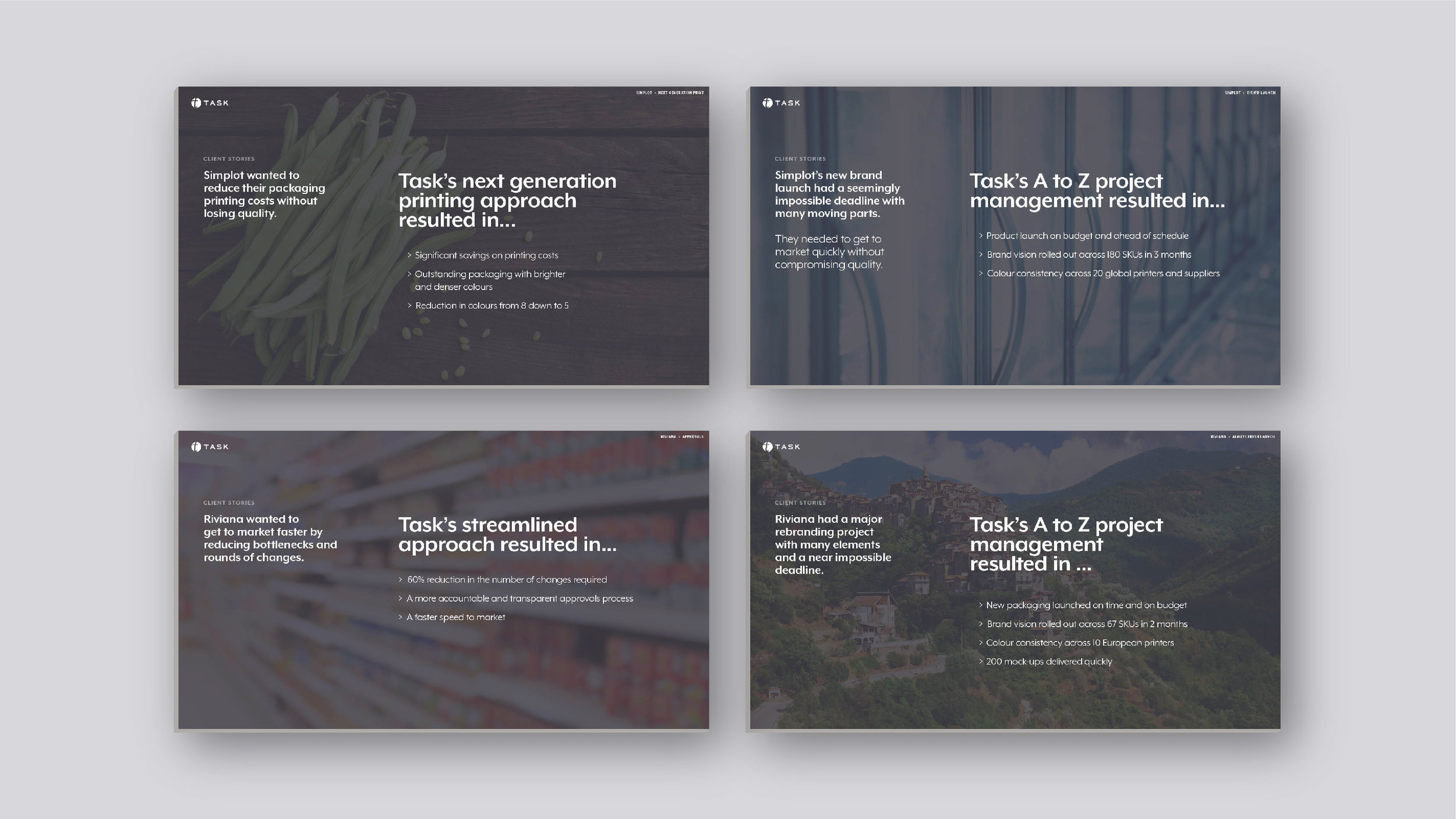 Case studies – Strategy, content, design