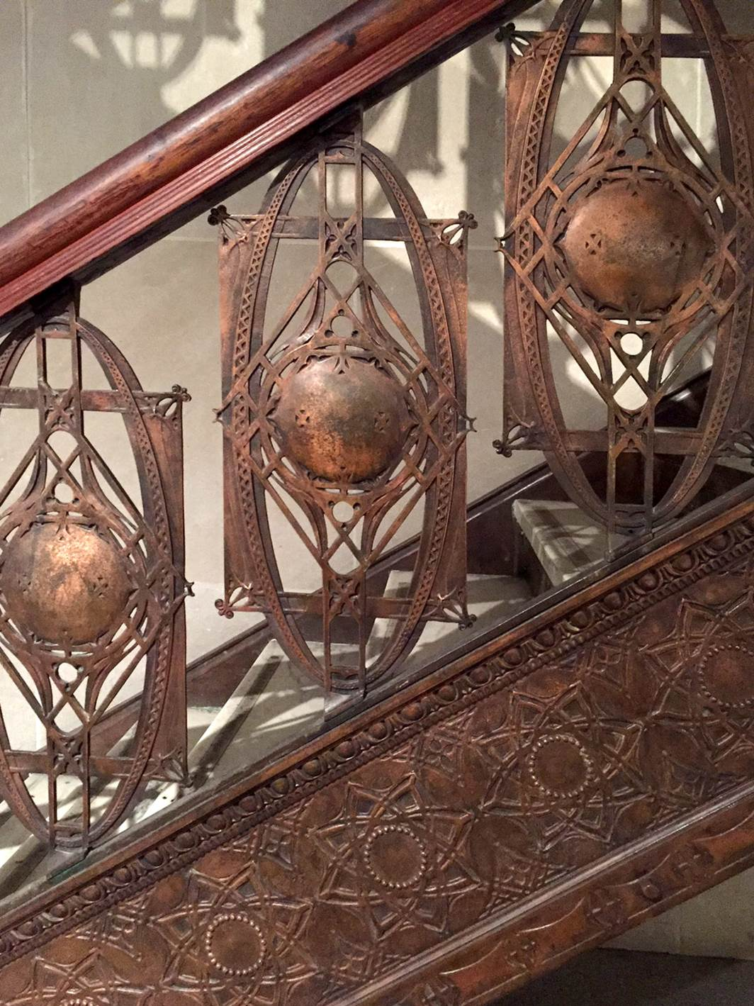 A Stair Hall from the Chicago Stock Exchange by Louis Sullivan