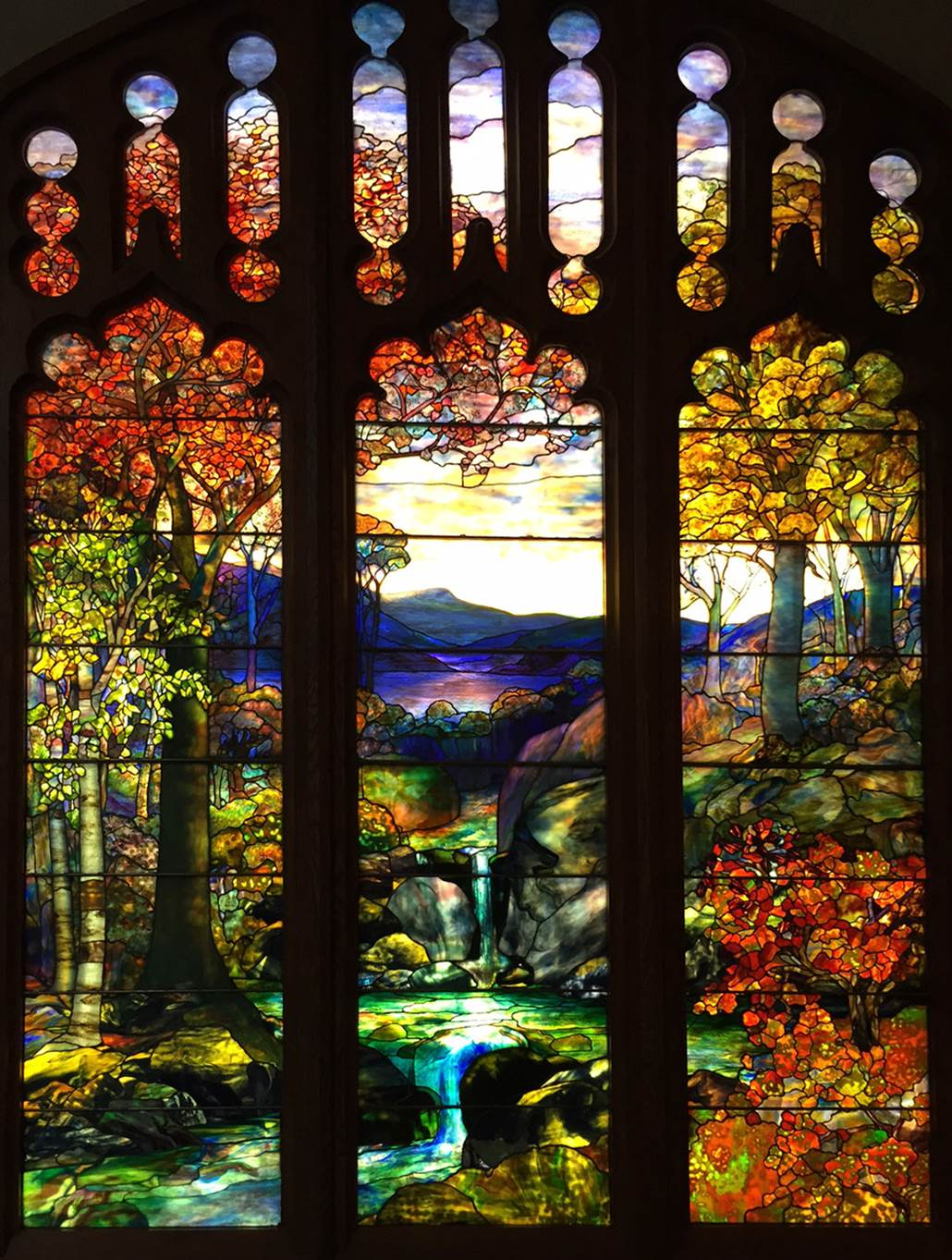 Window Panels by Louis Comfort Tiffany