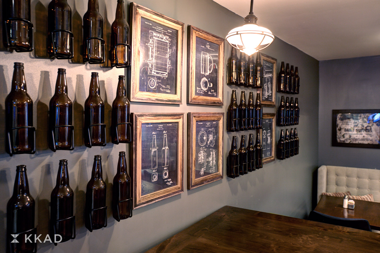 Four Points Bar Beer Wall
