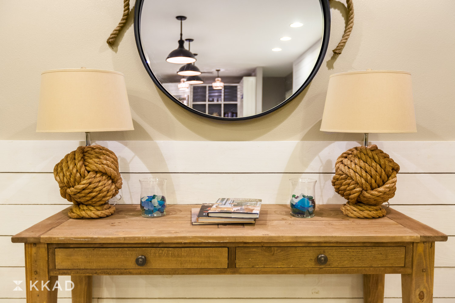 Beach House Lobby Console Table
