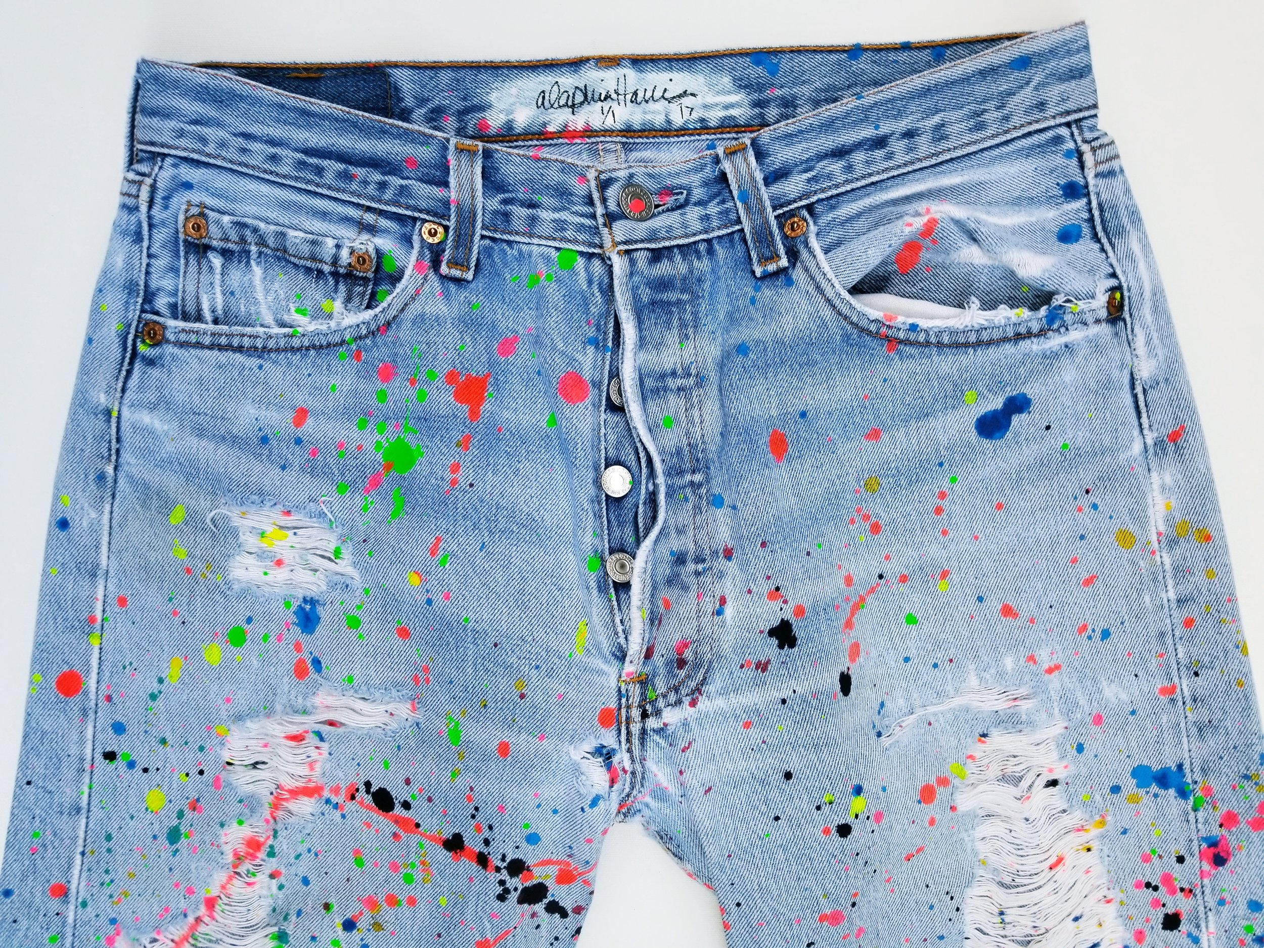 """The Matter Splatter""Jeans"