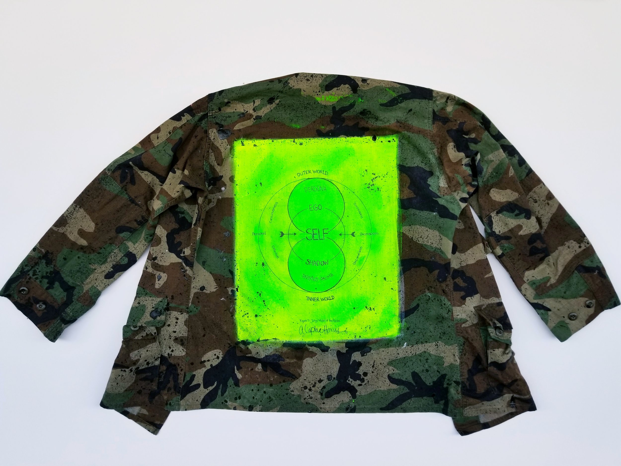 """The Self Camo"" Jacket"