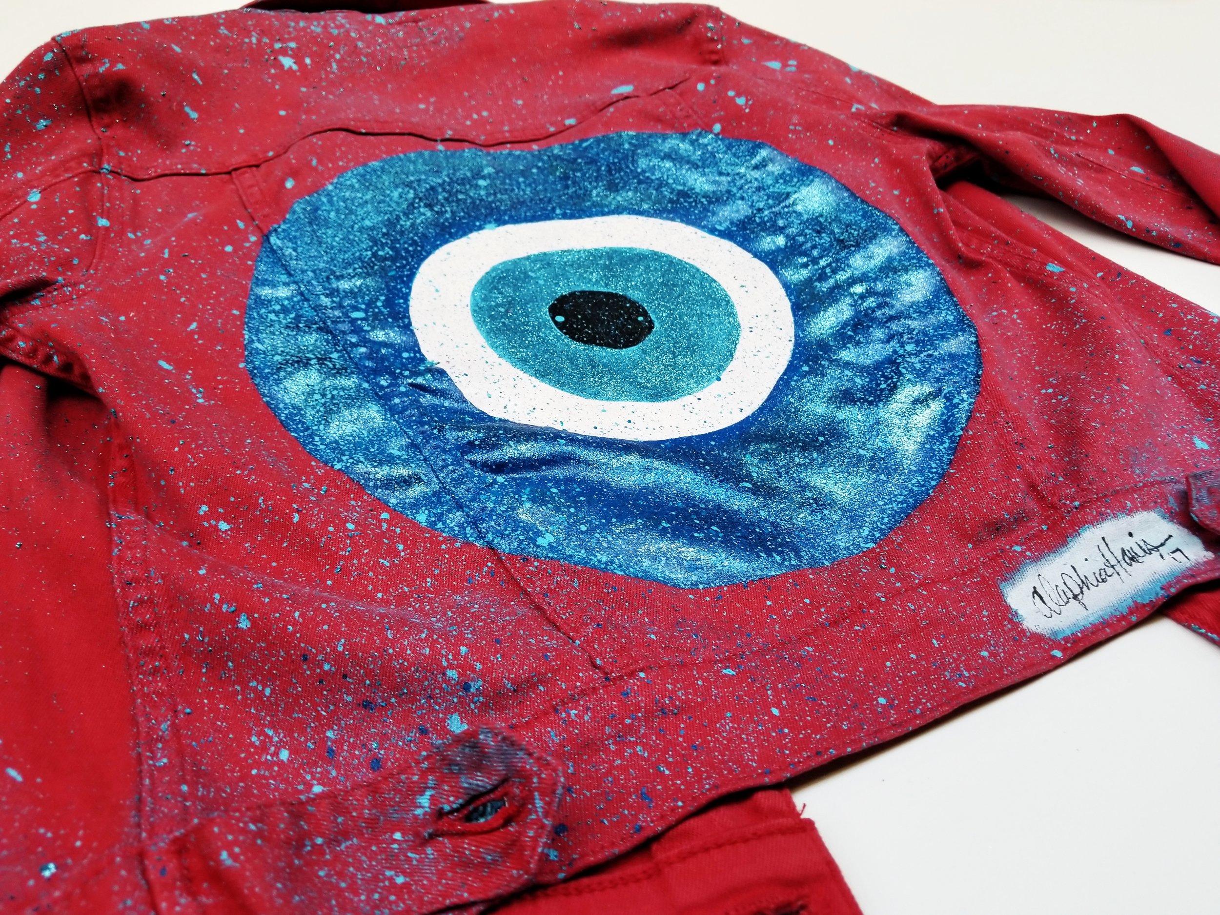 """""""Evil Eye"""" Jacket"""