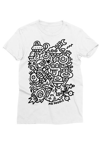 10. Alien Antics Tee - Brand: Mr. DoodlePrice $27.15