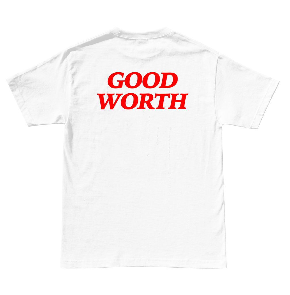 6. Logo Tee - Brand: Good WorthPrice: $28.00