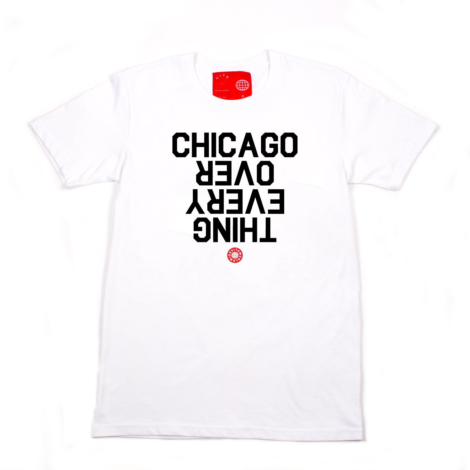 7. Chicago Over Everything Tee - Brand: VitaPrice: $40.00