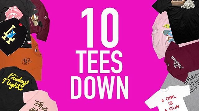 We're back with a new edition of 10 Tees Down! This week's list features new streetwear brands from Paris to Atlanta + more! Click the link in our profile to peep the list. // #clothingbrand #lifestyle #streetwear #apparel #accessories #design #tshirt #tshirtdesign
