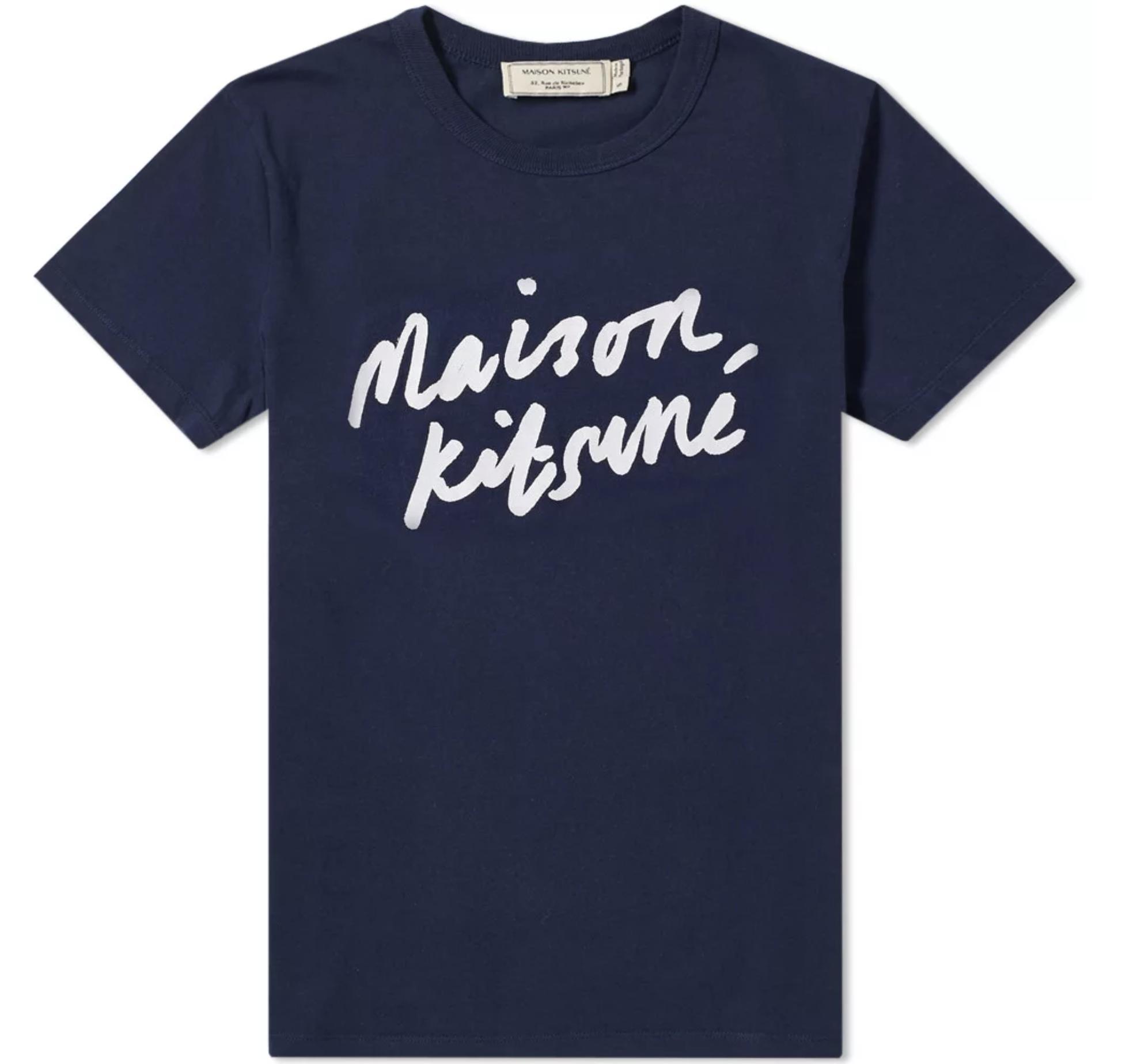 7. Handwriting Tee - Brand: Maison KitsunéPrice: $69.00