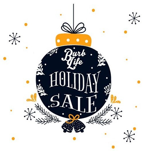 HAPPY HOLIDAYS!  This weekend only! We've marked down EVERYTHING in our online store! We're clearing the shelves and hooking y'all up! Hit the link in our profile to show all the deals now! // #happyholidays #sale #discount #christmas #BurbLifeOrNothing #ForTheDreamers #ForTheRebels #powertothepeople #apparel #clothingbrand #clothing #streetwear #design #tshirt // (template courtesy of freepik)