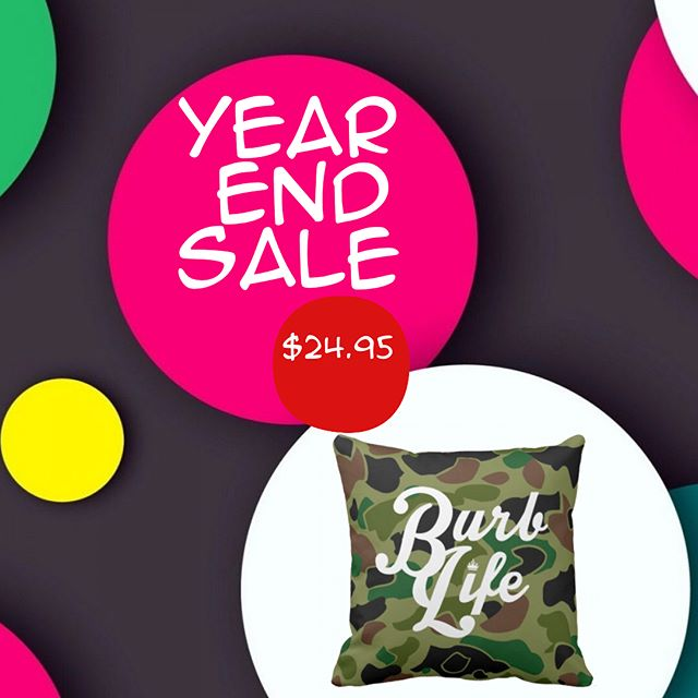 YEAR END SALE! Shop the lowest prices of the year on all of our merchandise! From apparel to home accessories, we've discounted EVERYTHING. Swipe through to check out featured items and hit the link in our profile to shop all the deals. // #happyholidays #sale #discount #christmas #BurbLifeOrNothing #ForTheDreamers #ForTheRebels #powertothepeople #apparel #clothingbrand #clothing #streetwear #design #tshirt