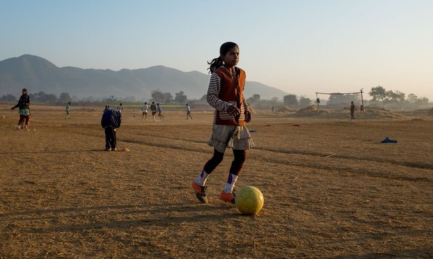 How football moved the goalposts for girls in rural India