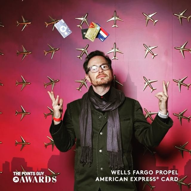 This photo booth is so fly [insert plane emoji] @a1array Design: @maria__branco for @abardinusfidelis Wood Structure: @richiecoxgreene Vinyl and Installation: @spsworldwide . . . #tpgawards #tpgawards2018 #NewYork #NewYorkCity #wellsfargo #americanexpress #SuperAOk #events #vinyl #photobooth #arrayplus