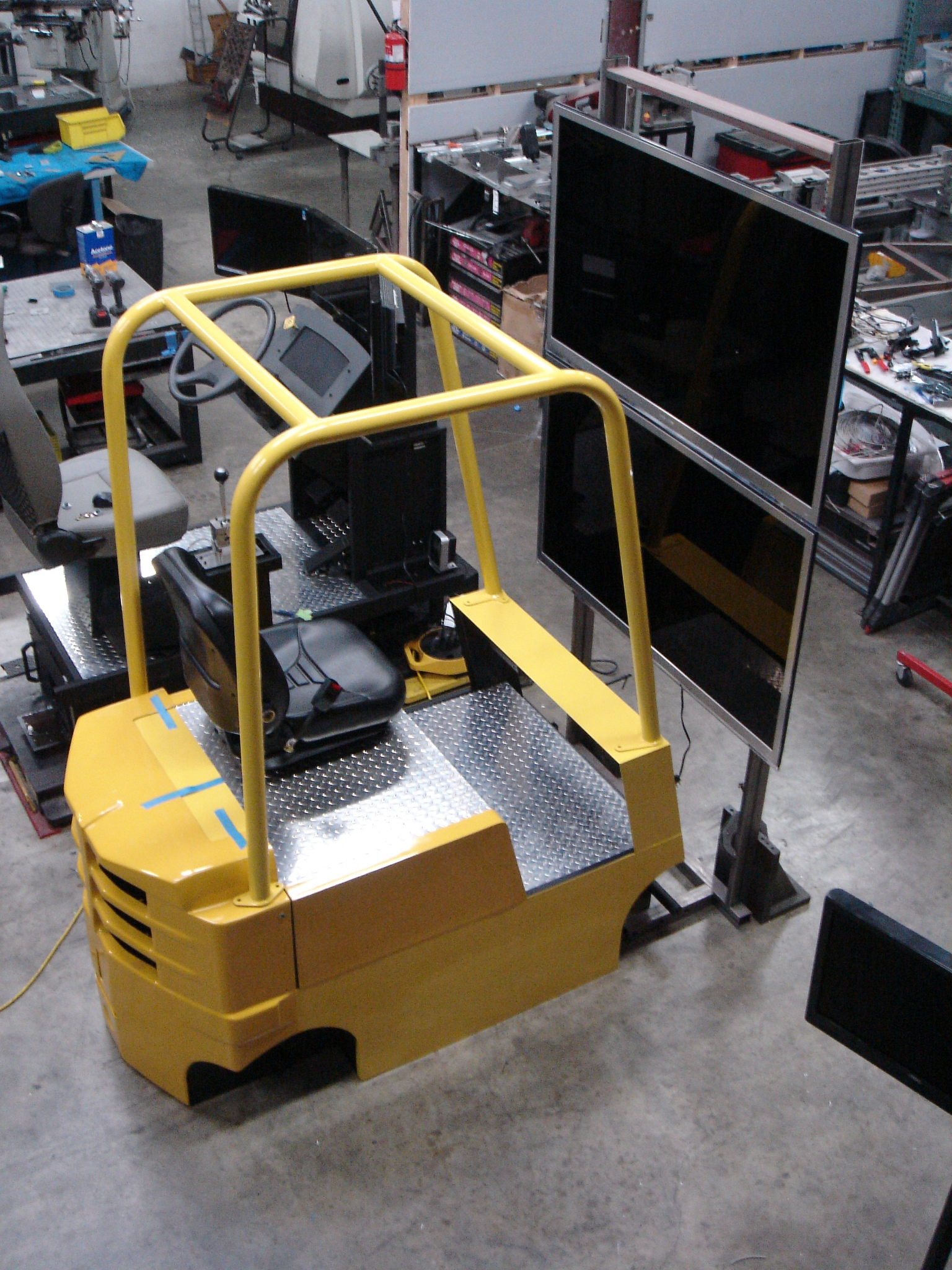Cab Simulator Assembly