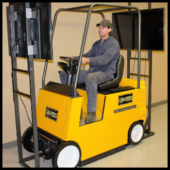 3D Forklift training.