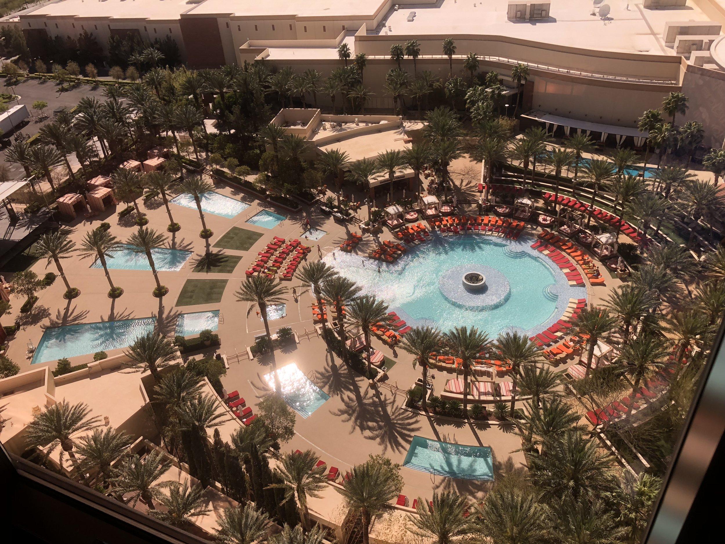 Das «Red Rockt» ist ein Off-Strip-Casino mit wunderschöner Pool-Anlage.