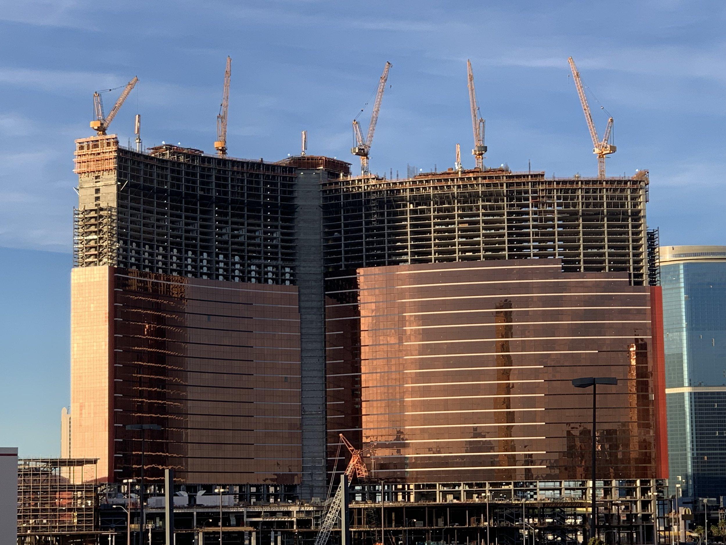 """Ähnelt dem """"Wynn"""", aber nicht so sehr, dass nicht weitergebaut werden kann: """"Resorts World Las Vegas""""."""