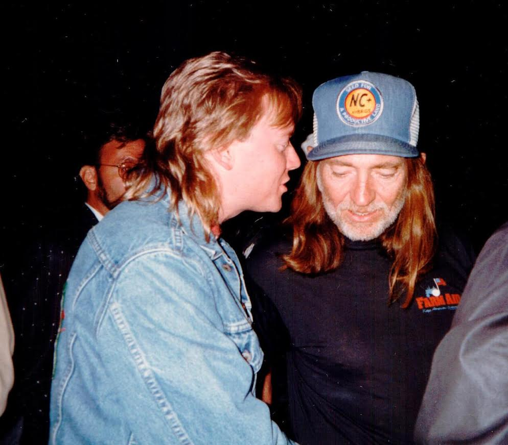 Terry with Willie Nelson