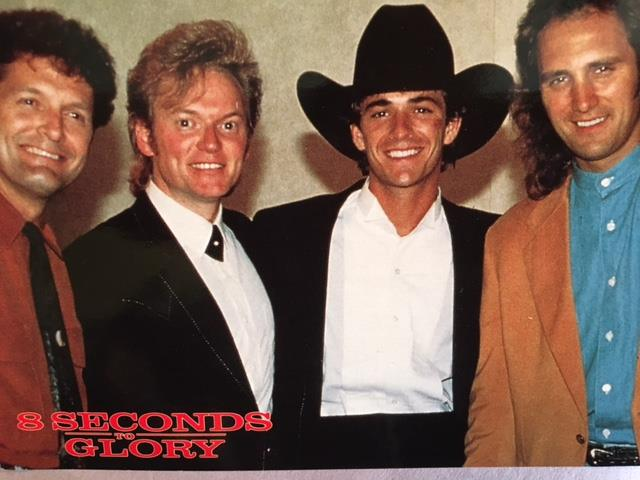 (L-R) Billy Thomas, Terry, Luke Perry, and Ray Herndon