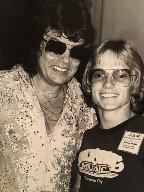 Country Music Hall of Famer Ronnie Milsap with Terry