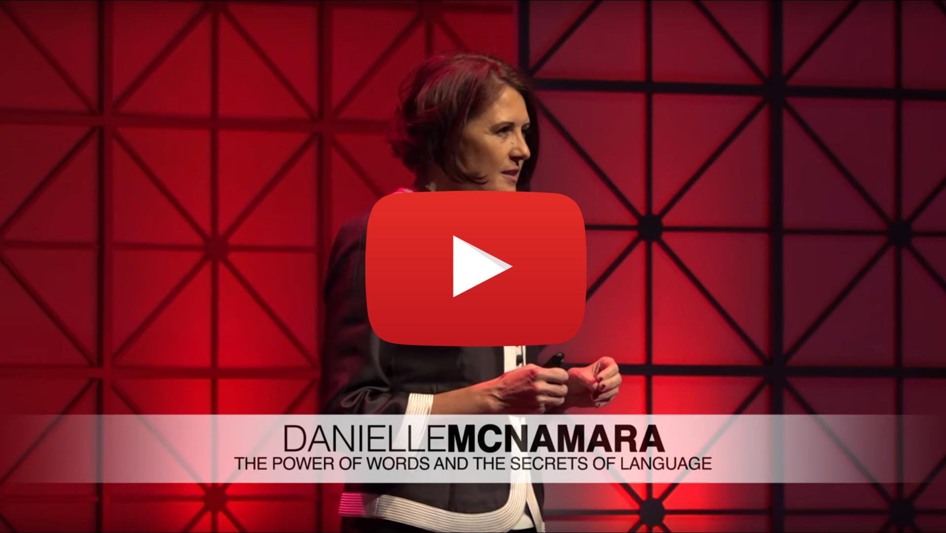 Danielle McNamara | TEDxASU -March 22, 2017