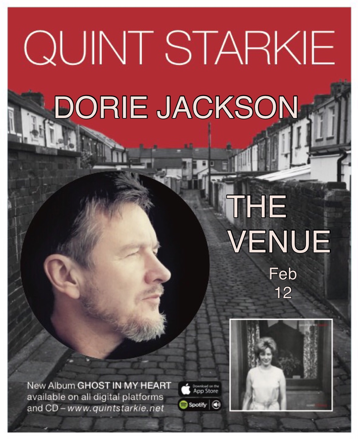 LIVE at THE VENUE in LYMM Cheshire UK: Feb 12