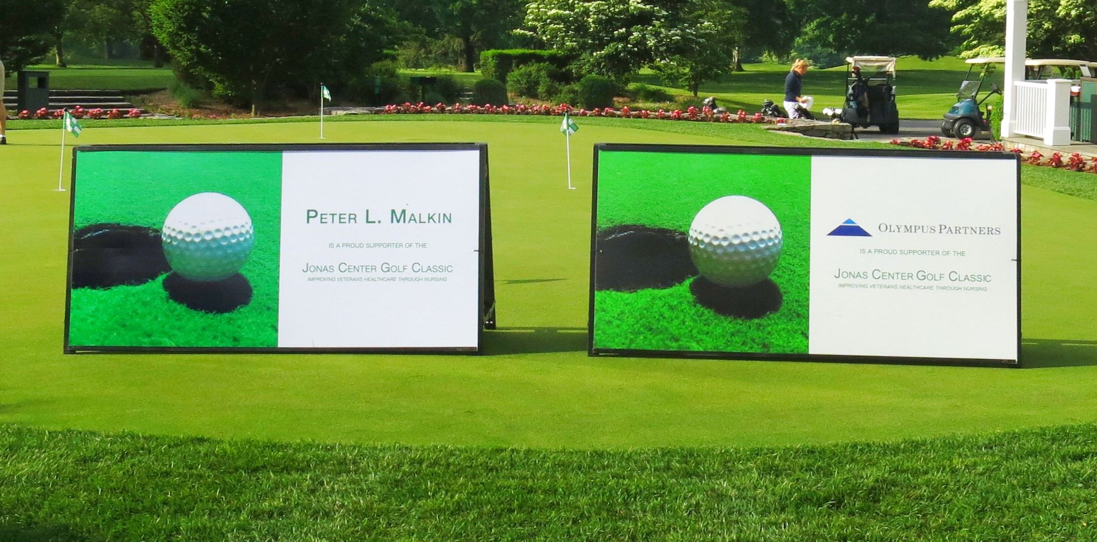 Jonas Center Golf Classic - SSS Walls