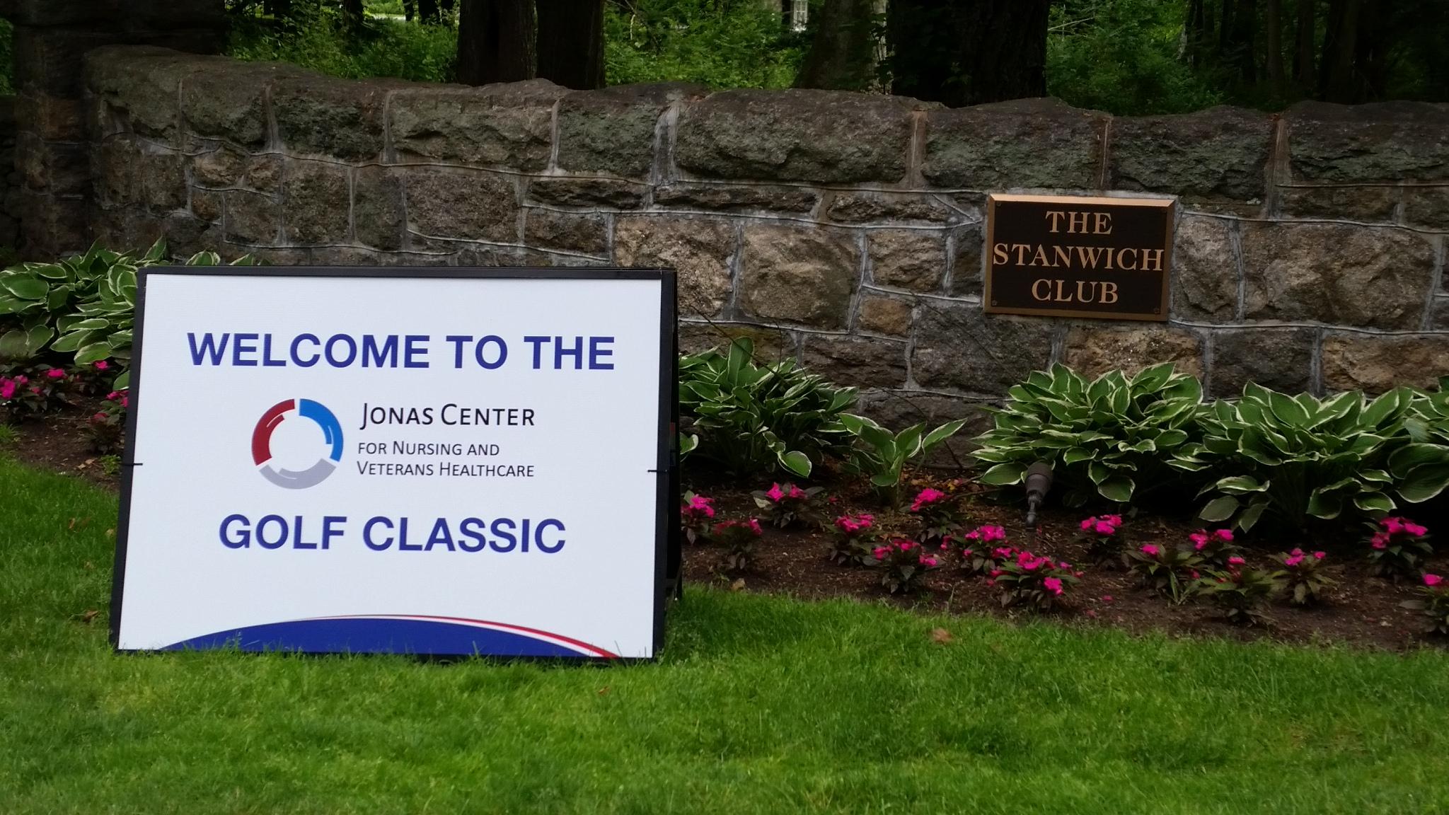 Jonas Center Golf Classic - SSS Wall