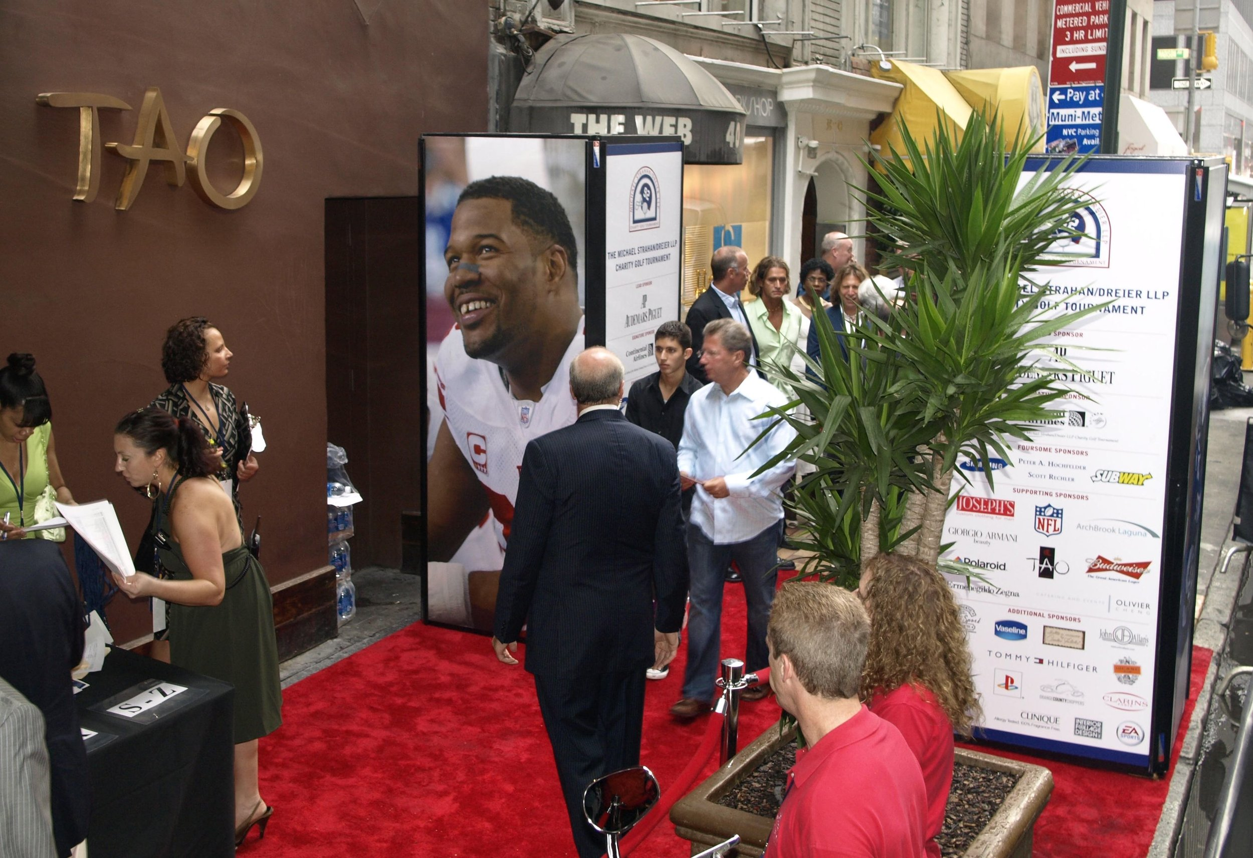 Michael Strahan Charity Golf Tournament - SSS Towers