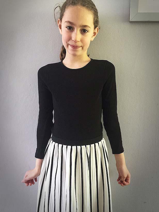 Eva    Eva looking oh so stylish in  Bobo Choses.