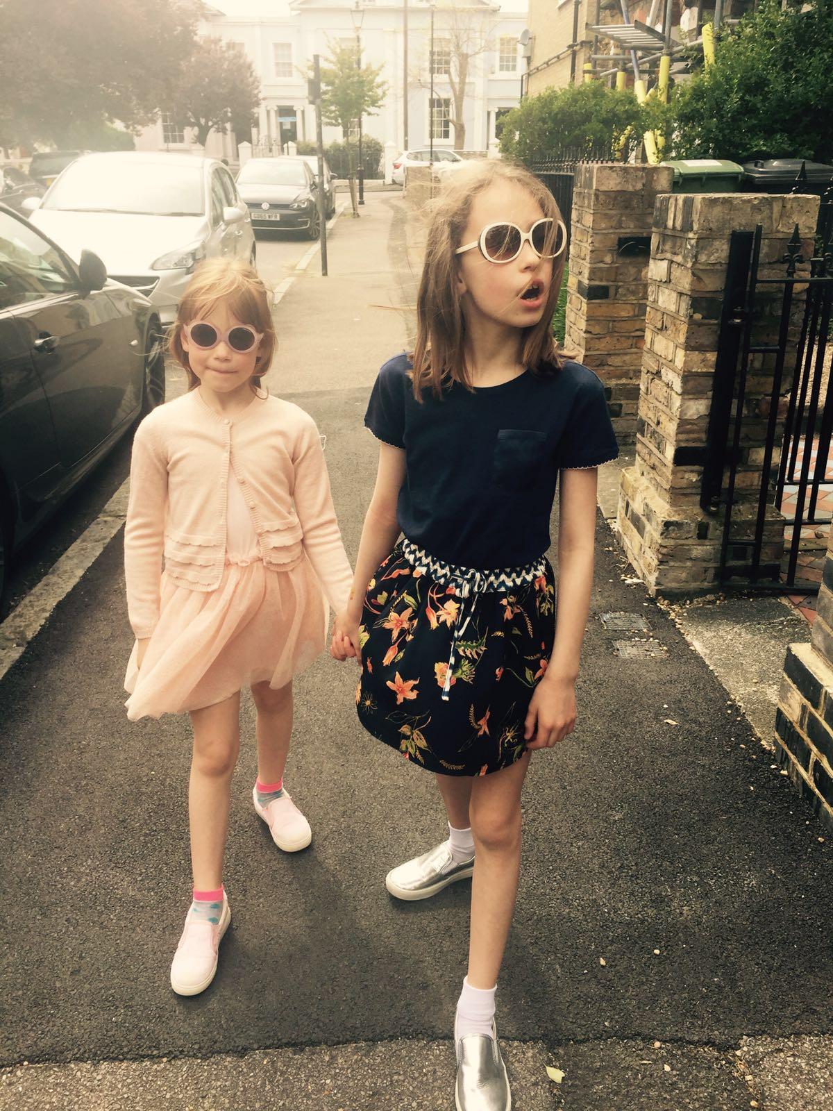 Ines and Eva   Head to toe in Vida Kids brands.