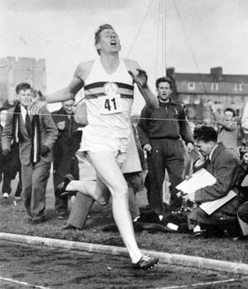 Today we morn the loss of a hero! #rogerbannister #359minutemile #359design