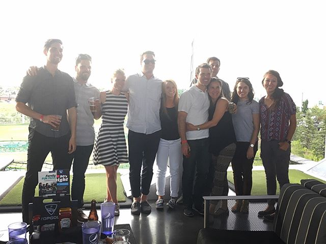 The sun was hot, but the beer was cold and the clubs swang true at the 359 summer party! . . . #architecturelife #architecture #design #firm #topgolf #golf #drivingrange #beer #summer #sun