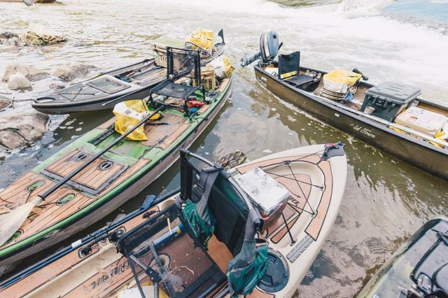 Funk Fleet #ERTX #locotrashbash. . . . . @yeti @texasparkswildlife #creeksandgeeks #bassfishing #kayakfishing #getoutside #itsbetteroutside #atx #texas